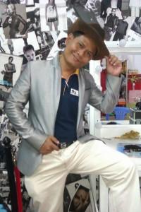 Sokhon in his media production studio